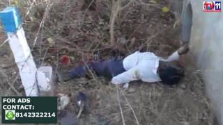 MAN DIED IN ACCIDENT AFTER HITTING ROAD DIVIDER AT KOHEDA TV11 NEWS 11TH MAR 2017