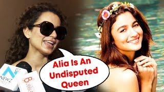 Kangana Ranaut WATCHES Alia Bhatt's RAAZI At PVR