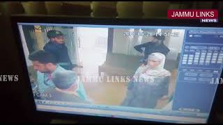 CCTV Footage: Militants loot Rs 1.7 lakh from bank in Kashmir