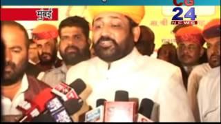 Rajput Karni Sena Aarakshan Aandolan Mumbai