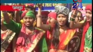 Mahila Aayog वीरांगना दिवस पर छात्राओं ने महारानी लक्ष्मी बाई के रूप में निकाली रैली CG 24 News