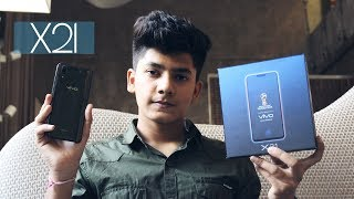 In-Display Finger Print Sensor Phone l Vivo X21 l Unboxing And First Look