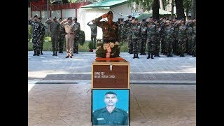 Army pays tribute to soldier martyred in Kakapore terror attack