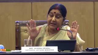 We have added 227 Passport Seva Kendras which is almost three times of UPA era : Smt. Sushma Swaraj