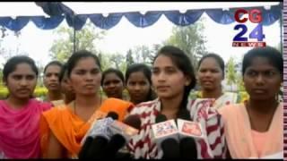 सीआरपीएफ कोंडागांव की अनूठी मुहीम -- आदिवासी छात्राओं को भेज रहे दिल्ली भ्रमण पर ----