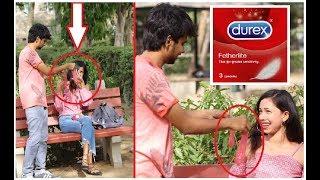Pulling Condom From Hair Prank   Pranks In India 2018
