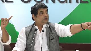 AICC Press Briefing by RPN Singh at Congress HQ on the Fuel Price