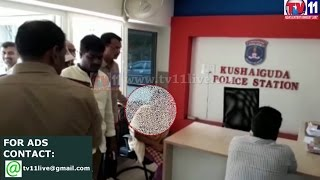 SCHOOL PRINCIPAL HARASSED LADY TEACHER AT KUSHAIGUDA PS TV11 NEWS 5TH APR 2017