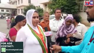 DOCTORS REFUSED TO TREATMENT FOR LOST OF  RECORDS AT NILOFER HOSPITAL TV11 NEWS 10TH APR 2017