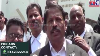 KCR CHITRANIKI PAALABHISHEKAM BY LAWYERS AT LB NAGAR TV11 NEWS 11TH APR 2017