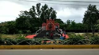 रानी दुर्गावती की नई प्रतिमा केनाल रोड रायपुर में