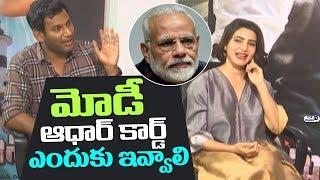 Abhimanyudu Team Interview | Vishal, Samantha and Hero Arjun | Top Telugu TV
