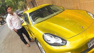 Asking Porsche Owner What he does for a Living (Poor vs Rich) - Social Experiment | TamashaBera