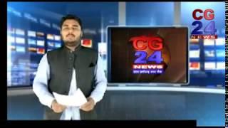 कोयला परिवहन में लगे वाहनों की जांच CG 24 News Channel