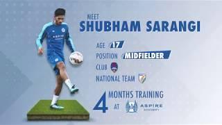 Shubham Sarangi - Aspire Academy Journey