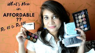 What's New in Affordable?? | Rs. 60 to Rs. 350 Affordable Makeup, Brushes and More | Nidhi Katiyar