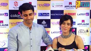 Gautam Rode With Beautiful Wife Pankhuri Awasthy At Indian Wiki Media 1 year Completion Party