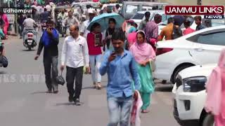 Heat wave continues unabated in Udhampur