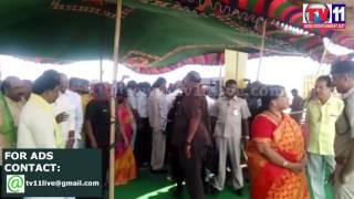 AP CM CHANDRABABU NAIDU POLAVARAM PROJECT OBESVATION TV11 NEWS 18TH APR 2017