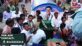 WATER TANKERS FACILITY   PROVIDED BY YSRCP IN CHARGE  GIDDALUR TV11 NEWS  23RD APR 2017