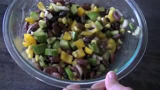 Summer Beans Salad Recipe | Easy homemade Summer Side Dish