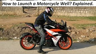 How to Launch a Motorcycle Well? Explained.