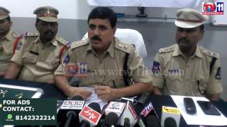 TWO  THIEVES ARREST AT PANJAGUTTA PS FOR TWO DIFFERENT CASES TV11 NEWS  6TH MAY 2017