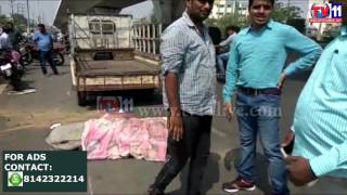 MOTORIST DIED BY HITTING DIVIDER IN ROAD ACCIDENT AT RAJENDRANAGAR TV11 NEWS 7TH MAY 2017