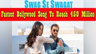 Swag Se Swagat Becomes Fastest Bollywood Song To Cross 450 Million Views
