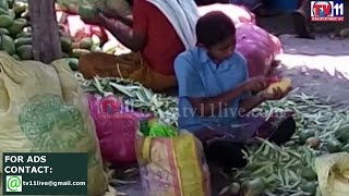 CHILD LABOR  AND UNHYGIENIC  CONDITIONS IN COTTAGE PICKLE INDUSTRY KRISHNA TV11 NEWS 9TH MAY 2017
