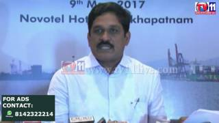 PORT TRADE MEET AT VISHAKAPATNAM PORT TV11 NEWS 10TH MAY 2017
