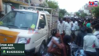 TWO CHILDREN INJURED IN NEGLIGENCE DRIVING INCIDENT AT BORABANDA TV11 NEWS 10TH MAY 2017