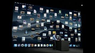 MacOs Mojave with dark mode, desktop stacks unveiled   Apple WWDC 2018