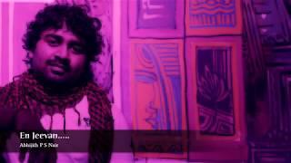 En Jeevan -Violin Cover- Abhijith P S Nair -Unnale unnale