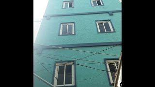 ILLEGAL CONSTRUCTION BUILDING AT S.R NAGAR GHMC OFFICIALS DONOT TAKE ACTION  TV11 NEWS 18TH MAY 2017