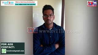 TWO PERSONS ARRESTED FOR CRICKET BETTING AT MEERPET POLICE STATION LIMIT TV11 NEWS 18TH MAY 2017