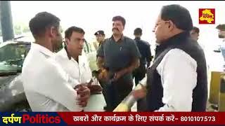 Badarpur - कैबिनेट मंत्री विपुल गोयल ने टोल पर खुलवाया जाम, टोलकर्मियों को लगाई फटकार