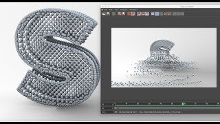 Inheritence 3D Text Animation making in Cinema 4D Tutorial