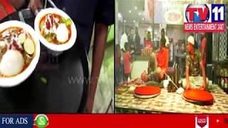 BLUE STAR RESTAURANT HALEEM STORY IN BALKAMPET , SANATHNAGAR | Tv11 News | 04-06-18
