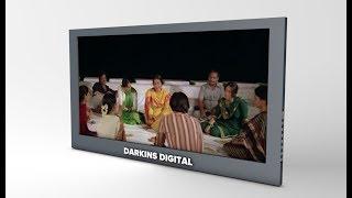 Adding Video into 3D Tv in Cinema 4d Tutorial