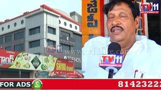 HOTELS, RESTAURANTS AND MEDICAL SHOPS OWNERS PROTEST AGAINST THE GST BIL TV11 NEWS 30TH MAY 2017