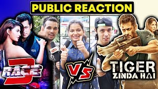 RACE 3 Vs Tiger Zinda Hai | Salman Khan | PUBLIC REACTION | Will RACE 3 Break Tiger Zinda Hai RECORD