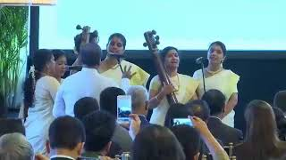 Rendition of Vaishnava Janato during PM's visit to Site of Immersion of Mahatma Gandhi's Ashes
