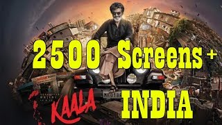 Kaala Movie To Release In Over 2500 Screens In INDIA