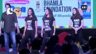 Aaditya Thackeray, Shaan campaign against plastic with musical twist