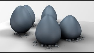 Particles on Collision Animation making in Cinema 4D Tutorial