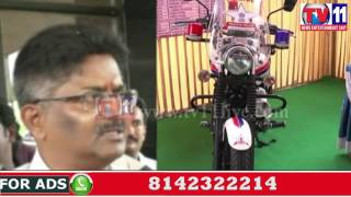 POLICE CONDUCTED ROAD SAFETY WORK SHOP ON PREVENTION OF ACCIDENTS VISHAKHA TV11 NEWS 10TH JUNE 2017