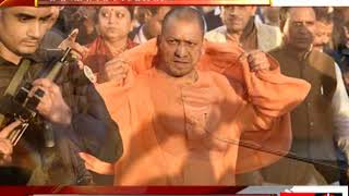 yogi adityanath suspended two dm after corruption charges