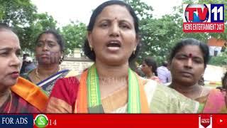 BJP YUVA MORCHA WOMEN LEADER FIRES ON MINISTER AKILA PRIYA | Tv11 News | 07-06-2018