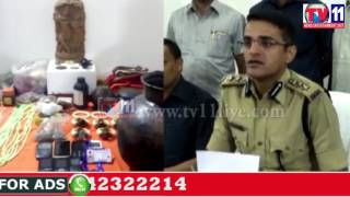 RICE PULLING GANG ARRESTED BY LB NAGAR SOT POLICE HYDERABAD TV11 NEWS 24TH JUNE 2017